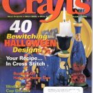 CRAFTS MAGAZINE BACK ISSUE ~ OCTOBER 2000 ~ 40 BEWITCHING HALLOWEEN DESIGNS NEAR MINT