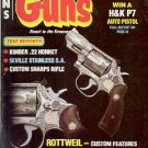 BACK ISSUE MAGAZINE: GUNS - ROTTWEIL - CUSTOM SHOTGUN  MARCH 1983 NEAR MINT
