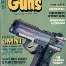 BACK ISSUE MAGAZINE: GUNS - CALIFORNIA HANDGUN CRISIS NOVEMBER 1982 NEAR MINT