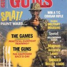 BACK ISSUE MAGAZINE: GUNS - SPLAT PAINT WARS: THE GAMES - THE GUNS  MARCH 1987 NEAR MINT