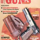 BACK ISSUE MAGAZINE: GUNS - EXCLUSIVE BUYER&#39;S GUIDE TO 9MM HANDGUNS AUGUST 1984 NEAR MINT