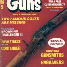 BACK ISSUE MAGAZINE:GUNS - SPECIAL EDITION CUSTOM GUNSMITHS & ENGRAVERS FEBRUARY 1983 VERY GOOD COND