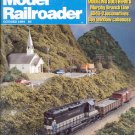 MODEL RAILROADING OCTOBER  1984  MAGAZINE BACK ISSUE NEAR MINT