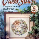 BACK ISSUE CRAFTS MAGAZINE: FOR THE LOVE OF CROSS STITCH 21 PROJECTS SEPTEMBER 1992 MINT