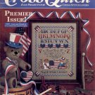 CROSS QUICK PREMIER ISSUE CROSS STITCH BACK ISSUE CRAFTS MAGAZINE AUGUST/SEPTEMBER 1988 NEAR MINT