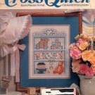 BACK ISSUE CRAFTS MAGAZINE: CROSS QUICK CROSS STITCH JUNE - JULY 1989 MINT