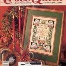BACK ISSUE CRAFTS MAGAZINE: CROSS QUICK CROSS STITCH OCTOBER - NOVEMBER 1989 MINT