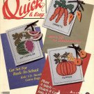 QUICK & EASY CROSS STITCH BACK ISSUE CRAFTS MAGAZINE AUGUST SEPTEMBER 1990 NEAR MINT