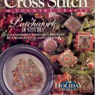 BACK ISSUE CRAFTS MAGAZINE: CROSS STITCH & COUNTRY CRAFTS NOVEMBER DECEMBER 1993 MINT
