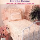 McCALL'S DESIGN IDEAS KNIT AND CROCHET FOR THE HOME CRAFT BOOK 1986 NEAR MINT
