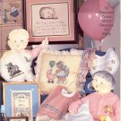 THE BABY BOOK by CROSS MY HEART INC CROSS STITCH LEAFLET CRAFT BOOK 1987 NEAR MINT