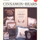 CINNAMON BEARS CROSS STITCH BOOKLET by JEAN FARISH NEEDLEWORKS 1985 CRAFT BOOK NEAR MINT