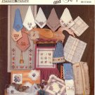 SUNDAY BEST BREADCOVERS & RECIPES CROSS STITCH BOOKLET by HICKORY HOLLOW 1986 CRAFT BOOK NEAR MINT