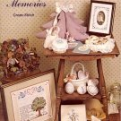 SWEET MEMORIES CROSS STITCH BOOKLET by VANESSA ANN COLLECTION 1981 NEAR MINT