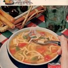 1961  CAMPBELL'S MINESTRONE SOUP  MAGAZINE AD  (8)
