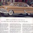 1953 NEW 1953 CHEVROLET BEL AIR 2-DOOR SEDAN MAGAZINE AD (172)