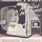 1953 MOTOROLA TV MAGAZINE AD  (191)