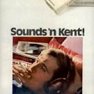 1971 KENT FILTER  CIGARETTES MAGAZINE AD  (15)