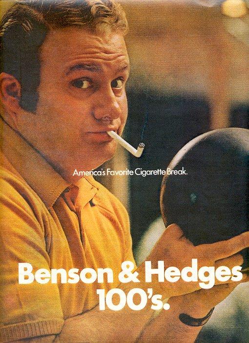 1972 BENSON & HEDGES 100's MAGAZINE AD  (47)