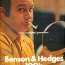 1972 BENSON & HEDGES 100's MAGAZINE AD  (47)