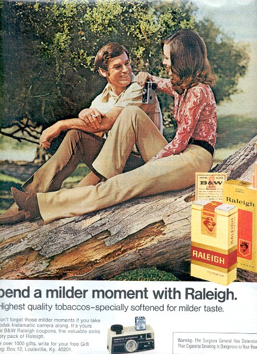 1972 RALEIGH CIGARETTES MAGAZINE AD  (53)