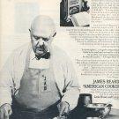 1972 JAMES BEARD IS AMERICA'S PASSIONATE PASHA OF FOOD MAGAZINE AD  (80)
