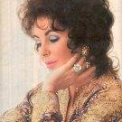 1972  ELIZABETH TAYLOR MAGAZINE AD  (97)