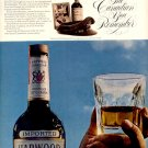 1971 HARWOOD CANADIAN WHISKY MAGAZINE AD  (28)