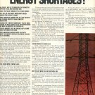 1972  HOW CAN AMERICA HEAD OFF ENERGY SHORTAGES MAGAZINE AD  (106)
