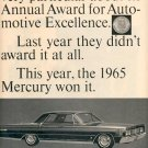 1964 MERCURY LINCOLN CONTINENTAL MAGAZINE AD  (121)