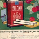 1959 PALL MALL CIGARETTES MAGAZINE AD  (147)