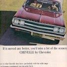 1965 CHEVROLET CHEVELLE MAGAZINE AD  (156)