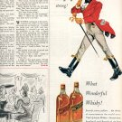 1953 JOHNNIE WALKER BLENDED SCOTCH WHISKY MAGAZINE AD  (197)