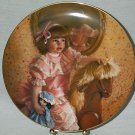 COLLECTOR PLATE AMY'S MAGIC HORSE BY SANDRA KUCK #2 in DAYS GONE BY PLATE COLLECTION NEW IN BOX 1983
