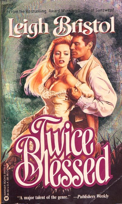 TWICE BLESSED  by LEIGH BRISTOL 1991  PAPERBACK BOOK VERY GOOD CONDITION