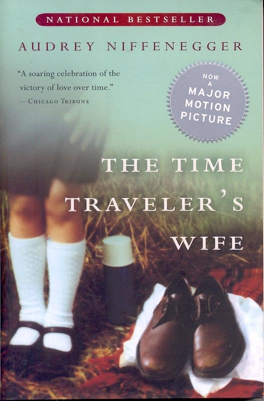 THE TIME TRAVELER'S WIFE by AUDREY NIFFENEGGER 2003  PAPERBACK BOOK NEAR MINT