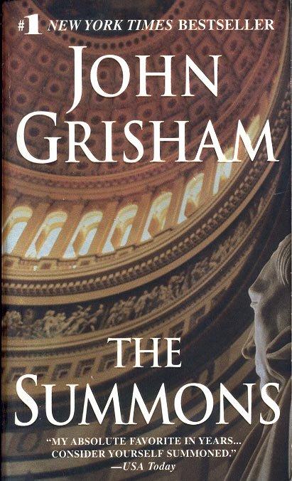 THE SUMMONS  by JOHN GRISHAM 2003  PAPERBACK BOOK NEAR MINT