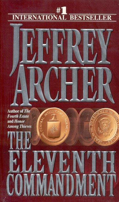 THE ELEVENTH COMMANDMENT by JEFFREY ARCHER 1999  PAPERBACK BOOK NEAR MINT