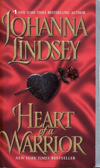 HEART OF A WARRIOR by JOHANNA LINDSEY 2002  PAPERBACK BOOK NEAR MINT