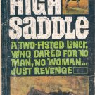 HIGH SADDLE by WILLIAM HOPSON 1952 WESTERN PAPERBACK BOOK GOOD CONDITION