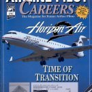 AIRLINE PILOT CAREERS FEBRUARY 2002 HORIZON AIR - TIME OF TRANSITION BACK ISSUE MAGAZINE NEAR MINT
