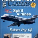 AIRLINE PILOT CAREERS MARCH 2002 SPIRIT AIRLINES - PATIENCE PAYS OFF BACK ISSUE MAGAZINE MINT