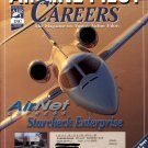 AIRLINE PILOT CAREERS APRIL 2002 AIR NET EXPRESS - STARCHECK ENTERPRISE BACK ISSUE MAGAZINE MINT