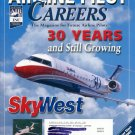 AIRLINE PILOT CAREERS OCTOBER 2002 SKY WEST - 30 YEARS AND STILL GROWING BACK ISSUE MAGAZINE MINT