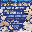 FAMILY CIRCLE JANUARY 2 2001 - LOSE 5 POUNDS IN 5 DAYS BACK ISSUE MAGAZINE NEAR MINT