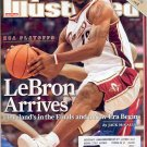 SPORTS ILLUSTRATED MAGAZINE JUNE 11, 2007 NBA PLAYOFFS LEBRON BACK ISSUE MAGAZINE NEAR MINT