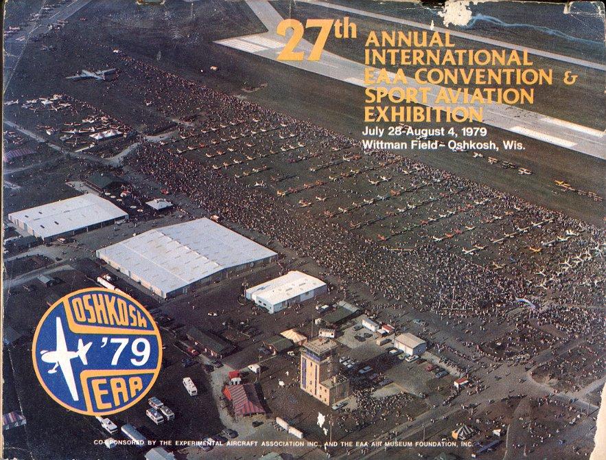 1979 27TH ANNUAL INTL EAA CONVENTION & SPORT AVIATION EXHIBITION PROGRAM WITTMAN FIELD OSHKOSH WIS.