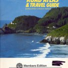RAND McNALLY ROAD ATLAS AND TRAVEL GUIDE - UNITED STATES - CANADA - MEXICO 1986 BOOKLET NEAR MINT