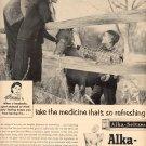 1957 ALKA-SELTZER MAGAZINE AD  (213)