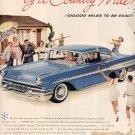 1957 PONTIAC STRATO-STREAK V-8 AUTOMOBILE MAGAZINE AD (230)